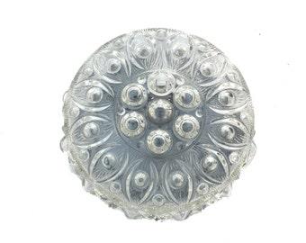 Flush mount lighting crystall bubble glass