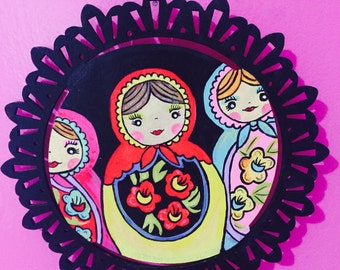 Nesting Dolls Wall Art Painting
