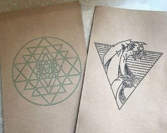 Geometric Logo Journals/Notebooks