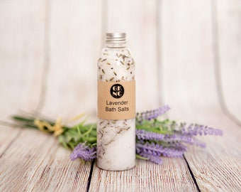 GK Natural Creations Lavender Bath Salts 300g
