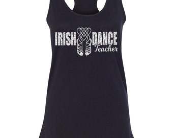 Irish Dance Teacher Tank