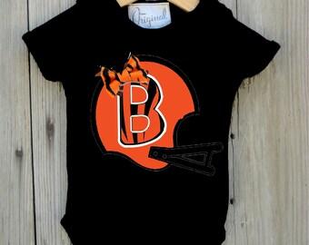 Bengals Inspired Bodysuit for Baby Girl