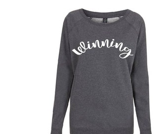 Womens Winning pullover organic jumper
