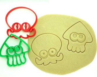 Squid and Octopus Cookie Cutter Set/Multi-Size
