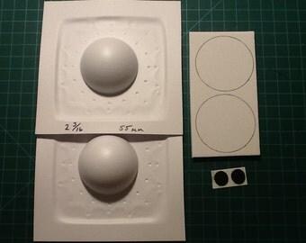 Vacuum Form Pro Puppet Eye Kit large round domes
