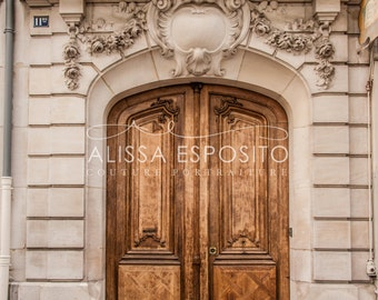 French Doors Paris - Photo Prints or Photo Canvas in 4 Sizes 8x10 to 20x30