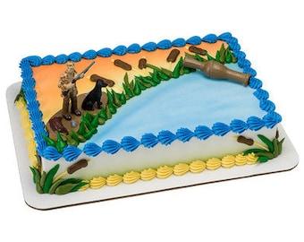 Duck Hunter Cake Topper/ Duck Hunter's Birthday Cake Topper/ Duck Hunting Cake Kit/ Duck Hunting Cake Kit/ Hunter Cake Kit Topper