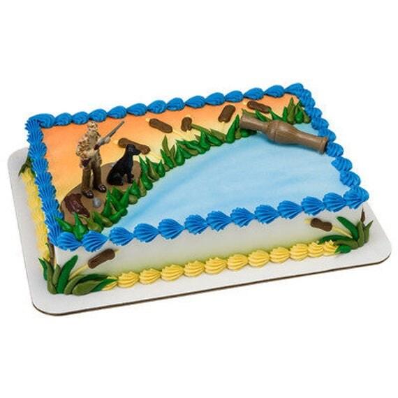 Duck Hunter Cake Topper Duck Hunters Birthday Cake Topper Duck