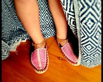 Children's handmade leather shoe