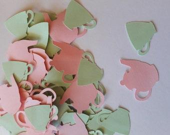 Tea Party Decorations, Tea Party Bridal Shower, Tea Party Birthday, Tea Party Baby Shower, Tea for Two, Tea Party Confetti