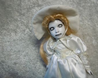 Ghostly Doll in White #84 Day of the Dollies
