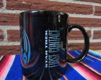 Star Trek First Contact Coffee Cup, Star Trek First Contact, Star Trek, Star Trek Cup, First Contact