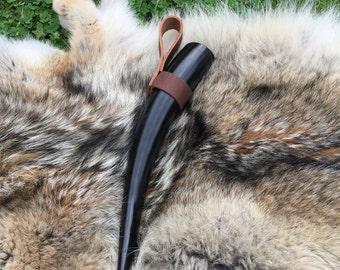 Viking Drinking Horn W/ holder 23
