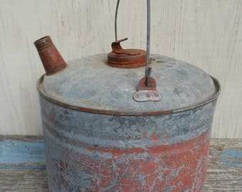 Rusty and Chippy Vintage Gas Can!