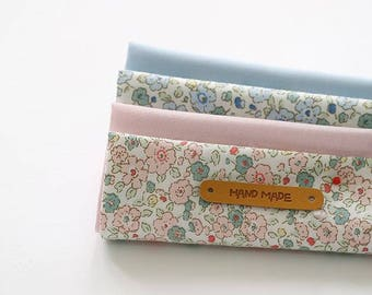 Little Flower - Quarter Fabric Pack 4 Fabric 1set - Sets for 4 each 45 X 55 cm
