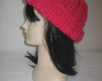 Big Cap wool 100% Red Merino