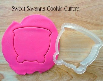 Witches Cauldron Cookie Cutter - Pot Cookie Cutter