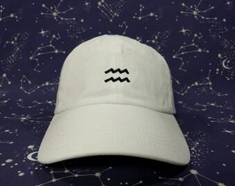 Aquarius Zodiac Cap