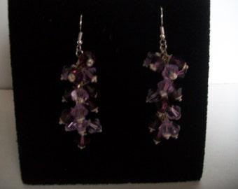 Swarovski Crystal cluster earring