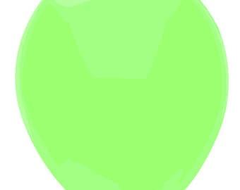 11 inch latex balloon- Neon Green