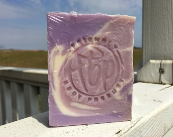 Soap - Lavender Vegan Soap, Cold Process Soap, Bar Soap, Handmade Soap, Natural Soap, Bedtime Soap
