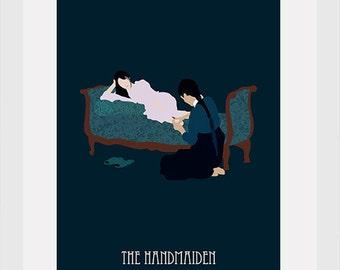 the handmaiden movie poster postcards 4'X6'