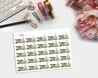 Hub Grass & Chill Planner Stickers by EllaCouturebyJessica