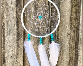 Small White Dreamcatcher