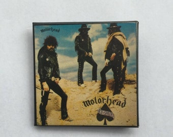 Motorhead Vintage 1980s NOS Ace of Spades Pin