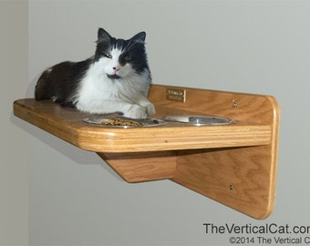 Cat Feeding Station from The Vertical Cat