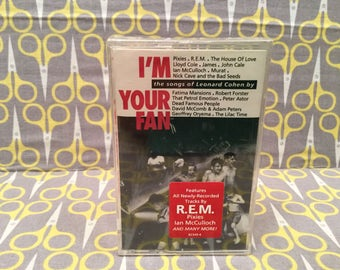 I'm Your Fan Songs of Leonard Cohen Cassette Tape rock Various Artists Sealed