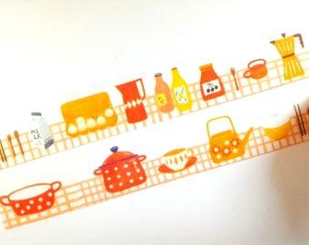 Kitchen Zakka washi tape