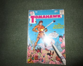 Vintage, DC, Superman, National Comics. June, No. 68. Tomahawk, The Frontier Superman Comic Book. 1960s.