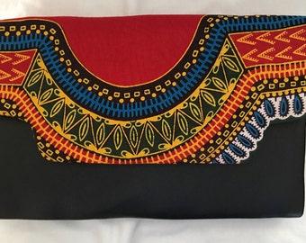 Dashiki Clutch/ African Print Clutch
