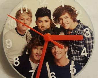One Direction CD Wall Clock