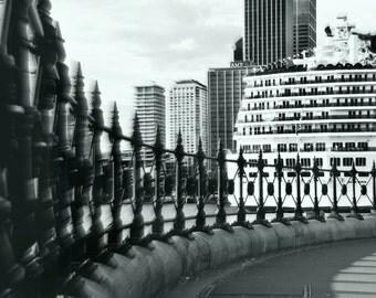 Circular Quay Sydney Harbour Carnival Spirit Cruise Print Photography