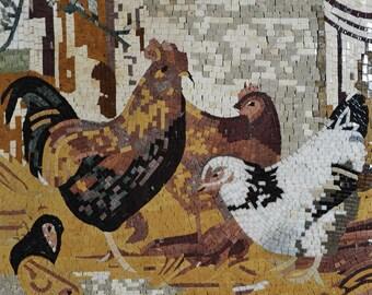Mosaic Patterns- The Backyard