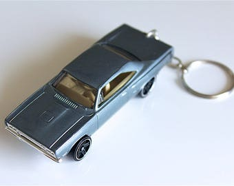 1970 Plymouth Road Runner - Fast and Furious Hot Wheels Die cast on Key Chain