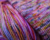 Full on Jelly Bean -dyed to order-  super wash merino 100g hand dyed yarn