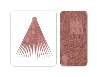 Paper Bead Strips Make Paper Beads Paper Bead Roller Quilling Tools Paper Bead Kit Maroon DIY Paper Bead Strips for Jewelry Supplies (7003)