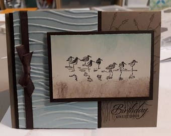Birds Birthday Card