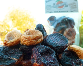 Sun Dried Figs, 300g - All Natural Healthy Fruit Snacks - Grown, Picked & Dried By Us!