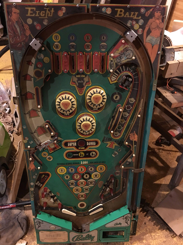 Pool billiards themed custom pinball machine coffee table zoom geotapseo Image collections