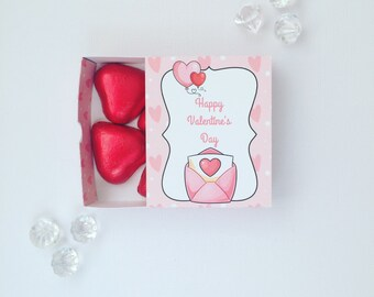 Valentine's Day matchboxes