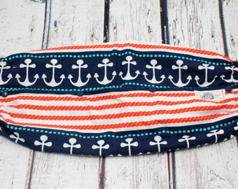 baby carrier bag - baby carrier accessories - tula accessories - baby wearing accessories - nautical anchors carrier bag - baby shower gift