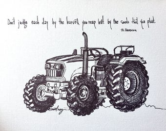 Tractor - the seeds that you plant