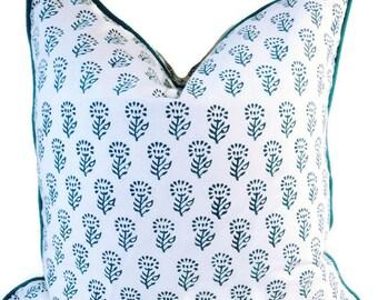 18x18 inch pillow cover, cushion covers, blue pillow covers, decorative pillows, pillow covers, accent pillows, throw pillows, sofa pillows