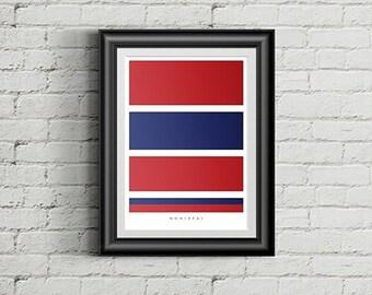 Tricolore Screen Print Poster