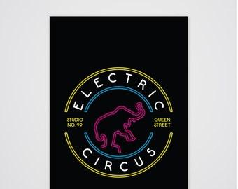 Electric Circus Art Print