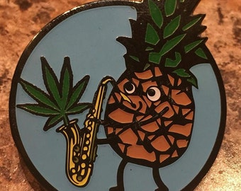LITZ Thanks For The Weed Hat Pin SlabLab Pins LITZ Funk